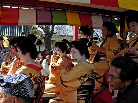 Geisha Parade, Tokyo, Japan