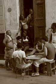 Playing Cards, Havana, Cuba