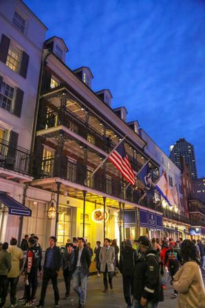 Bourbon St, New Orleans, Louisiana, USA