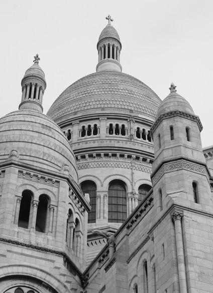Sacre-Coeur, Montmatre, Paris, France