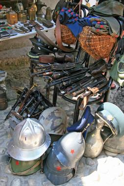 War souvenirs, Mostar, Bosnia