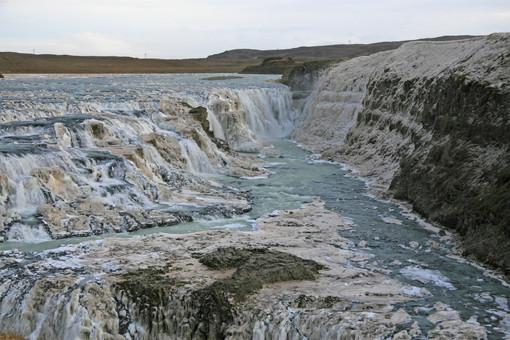 Frozen Gullfoss, Iceland