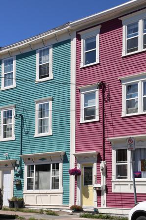 Jellybean Row, St. John's, Newfoundland, Canada