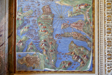 Gallery of Maps, Vatican City, Italy