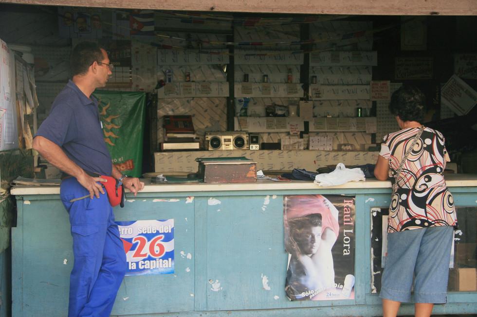 Shops, Havana, Cuba