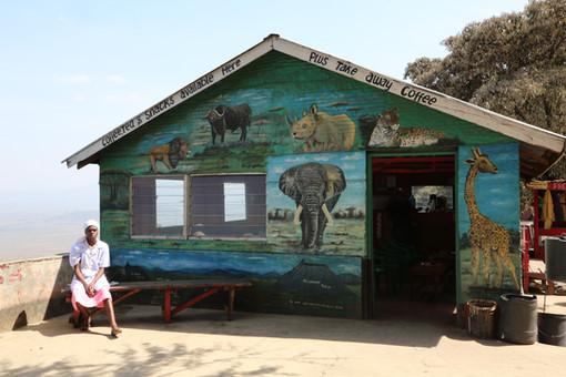 Shop, Great Rift Valley, Kenya