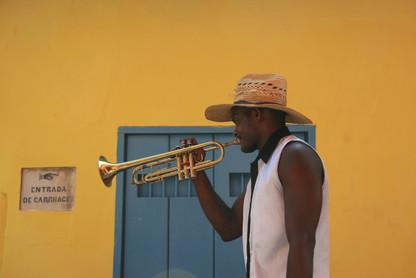 Local musician, Havana, Cuba