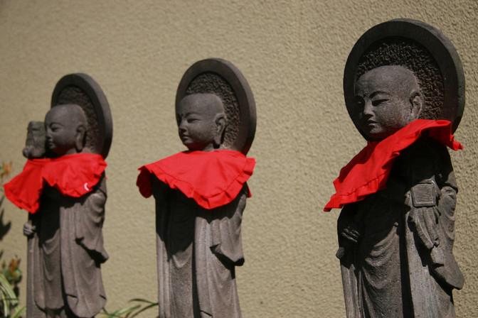 Statues, Tokyo, Japan