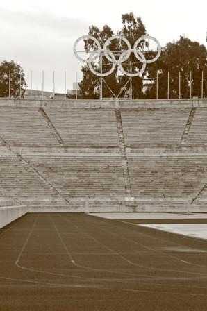 Olympic Stadium, Parthenon, Athens, Greece