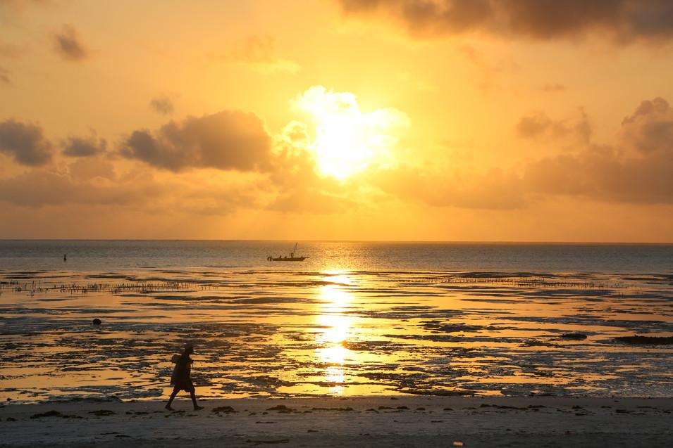 Jambiani Sunset, Zanzibar
