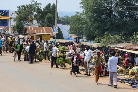 Street Market, Uganda