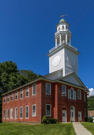 Weathersfield Church, Vermont, USA