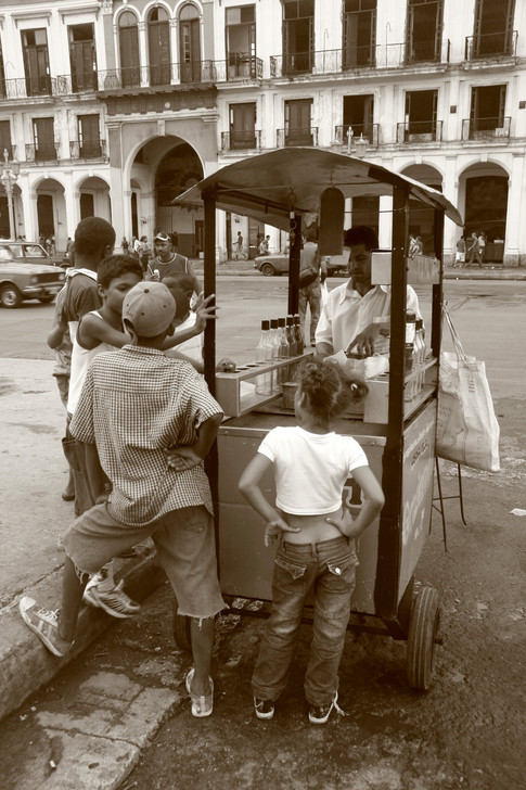 Street Food, Havana, Cuba