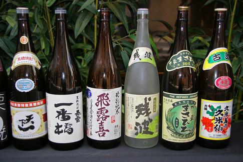 Saki Bottles, Tokyo, Japan
