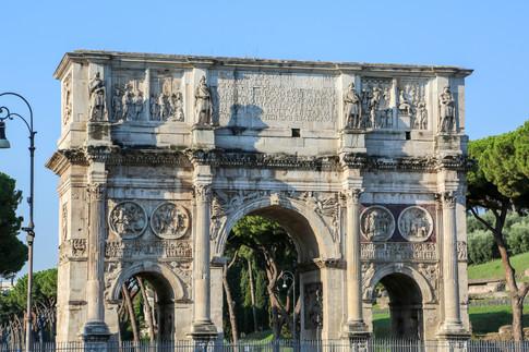 Colosseum Gate, Rome, Italy