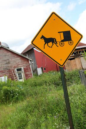 Road Traffic Sign, New Hampshire, USA