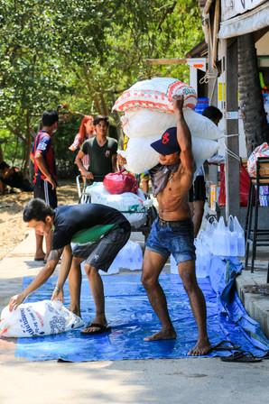 Stock the ice, Railay Beach, Thailand