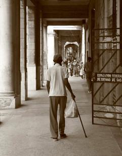 Walking Home, Havana, Cuba
