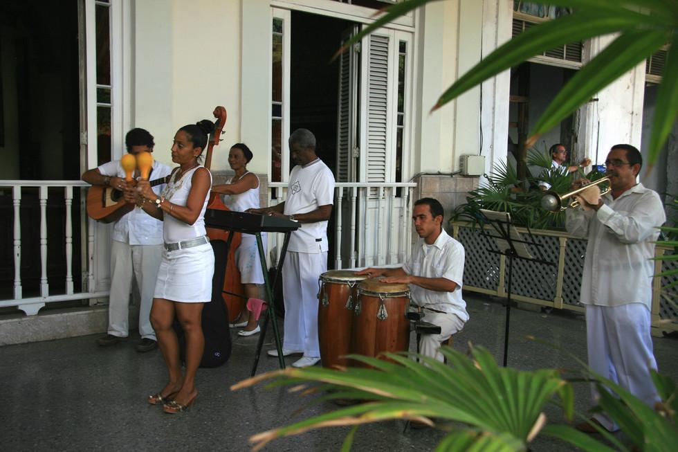 Local musicians, Havana, Cuba