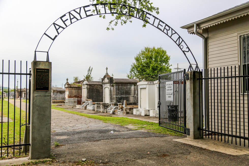 Lafayette Cemetary, New Orleans, Louisiana, USA
