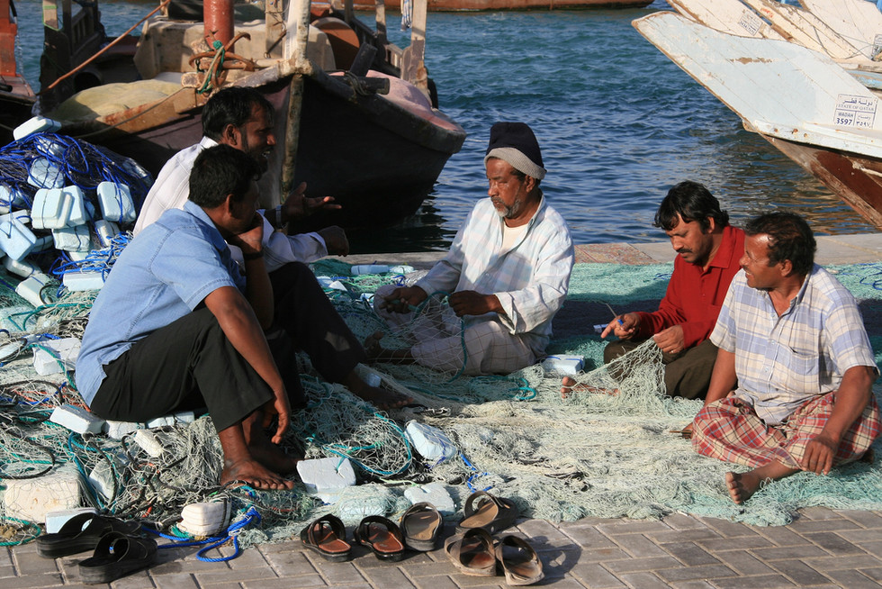 Local Fishermen, Qatar