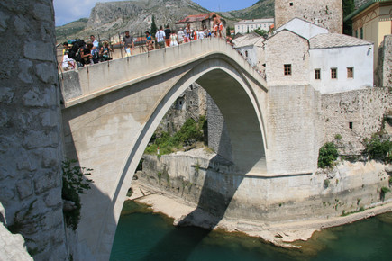 Mostar Bridge, Mostar, Bosnia