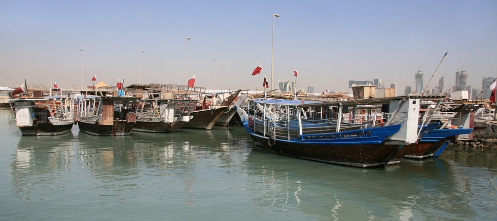 Dhow Boats, Doha, Qatar