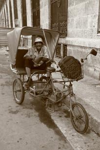 Taxi driver, Havana, Cuba
