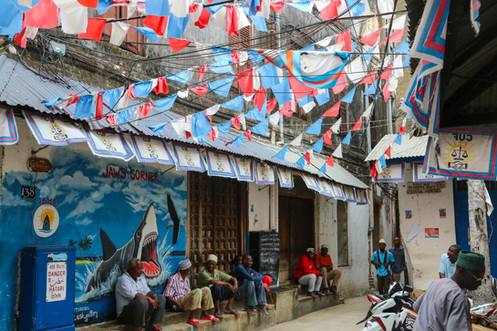Shops, Stone Town, Zanzibar