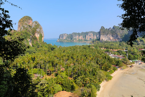 RailayViewpoint, Railay Beach, Thailand