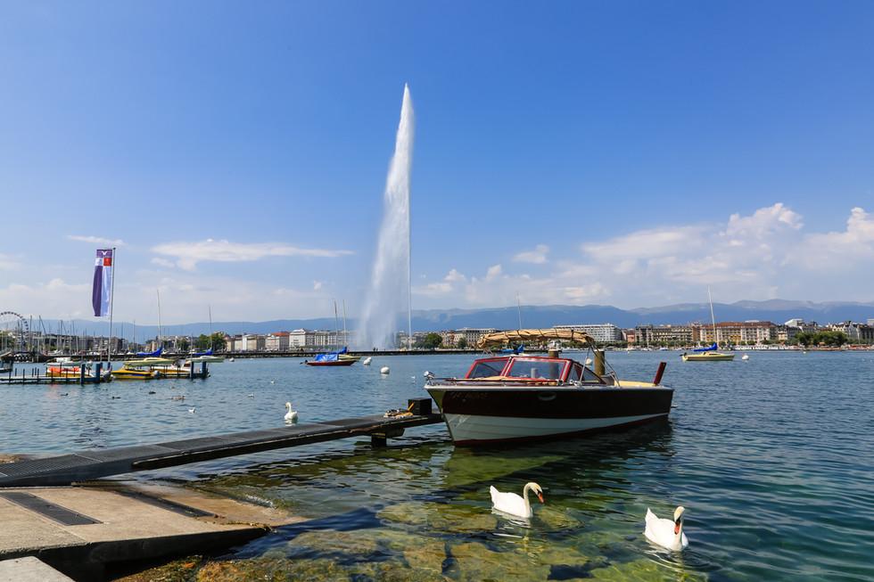 Lake Geneva, Geneva, Switzerland