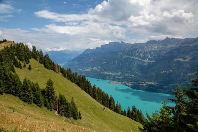 Thunersee Lake, Interlaken, Switzerland