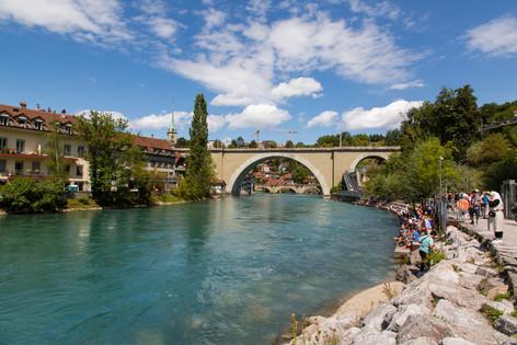 Old City Bridge, Bern, Switzerland
