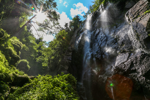 Rainbow Falls, New York State, USA
