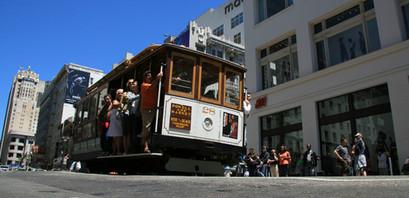 Street Car, San Francisco, California, USA