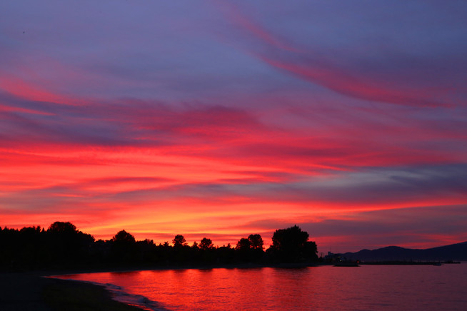 Sunset, Vancouver, BC, Canada