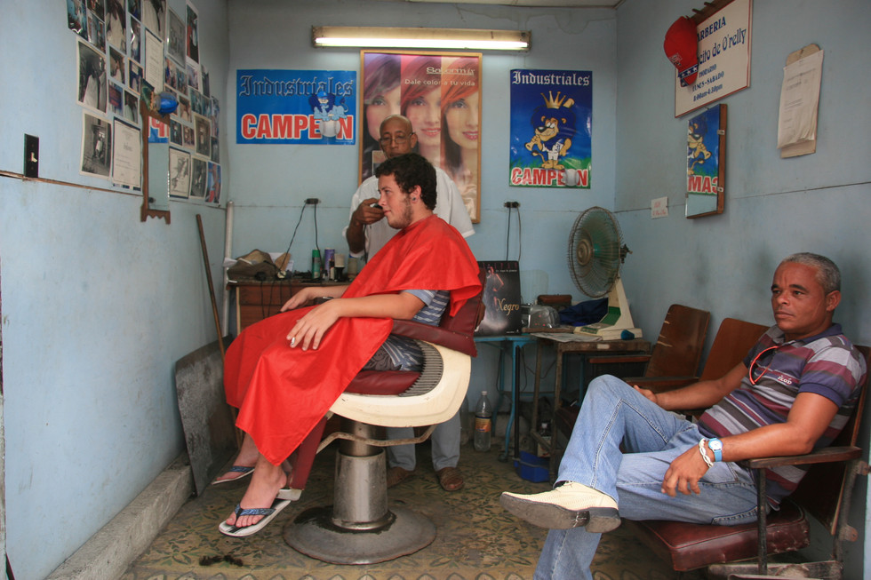 Hairdresser, Havana, Cuba