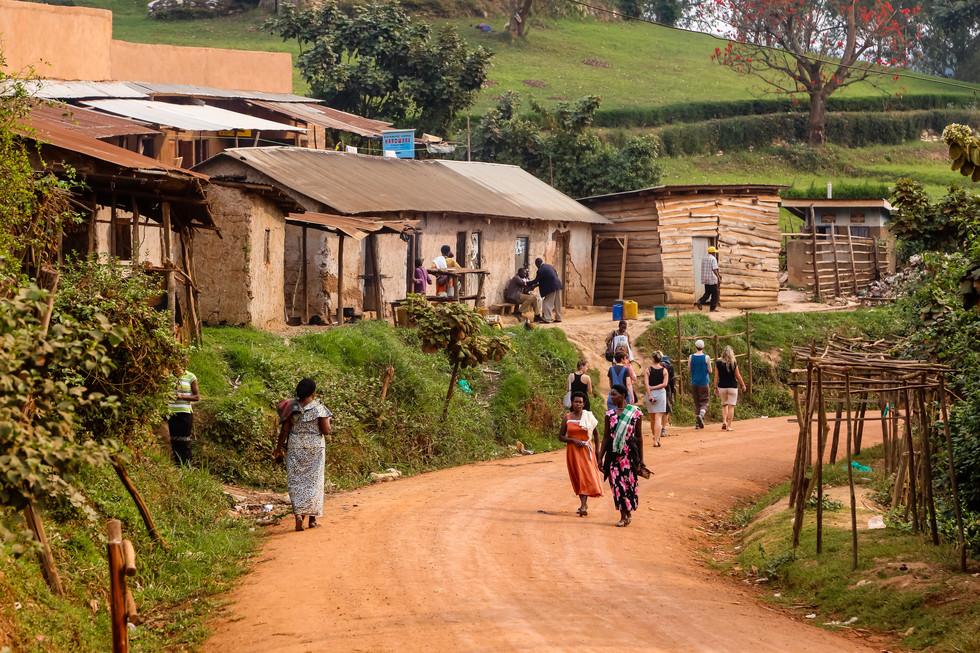 Lake Bunyonyi Village