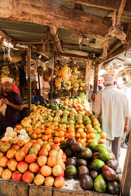 Fruit Stand, Stone Town, Zanzibar