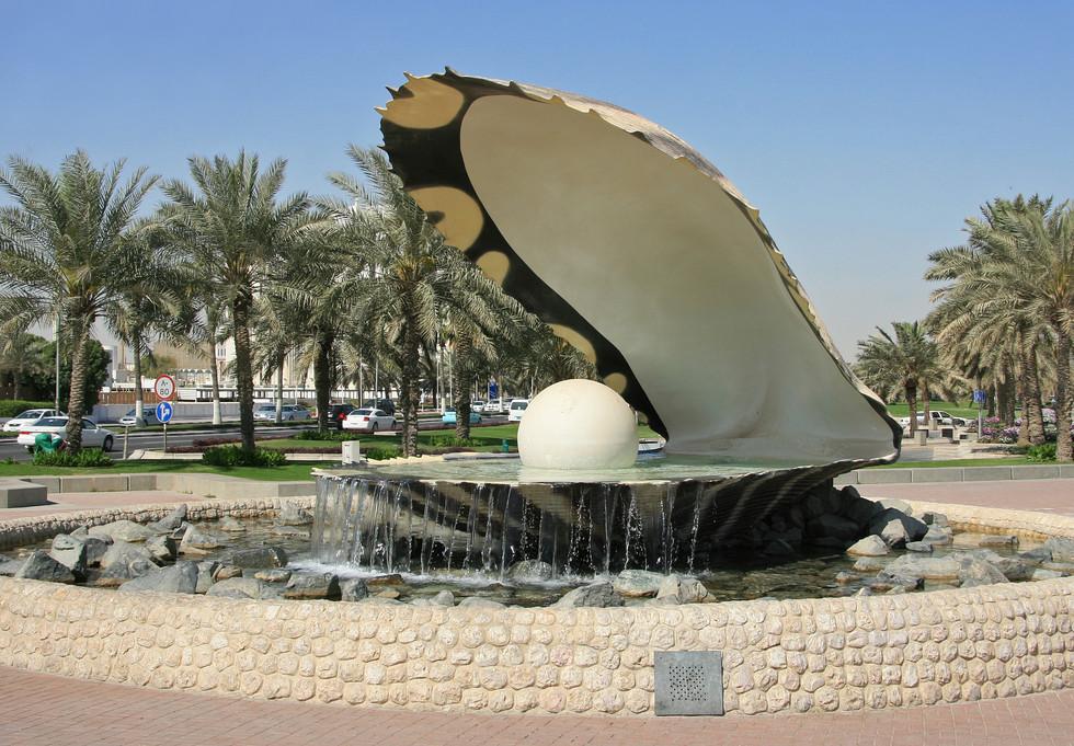 Oyster Ornament, Qatar
