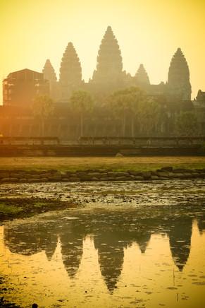Sunrise, Angkor Wat, Cambodia