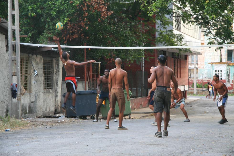 Volleyball, Havana, Cuba