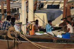 Fishermen, Qatar