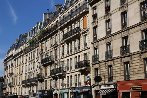 Parisian Streets, Paris, France