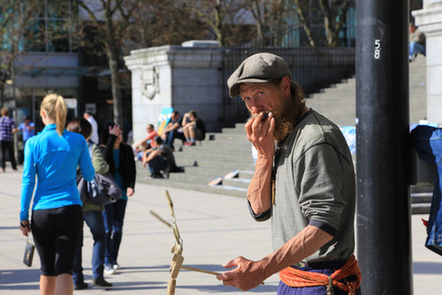 Street Musician, Vancouver, Canada