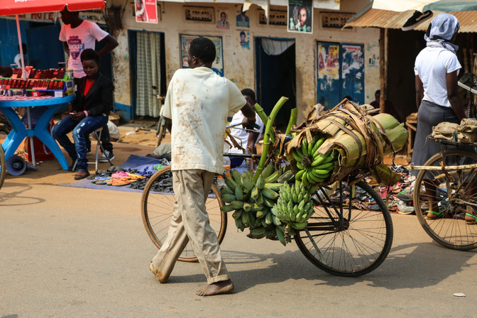 Street action, Uganda
