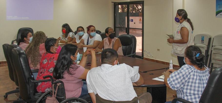 1er Asamblea Asociación Cholomeña de la Discapacidad por la Inclusión ASOCHODIS.