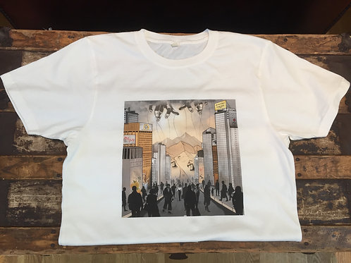 'Tracks' Artwork T-shirt