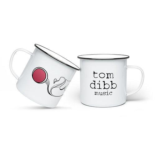 Logo Enamel Camping Mug