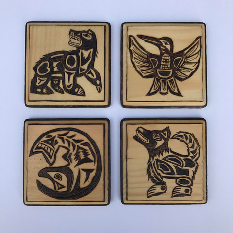 Haida Coasters